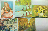 Vtg Greeting Cards Nacy Mc Donald MS Multiple Sclerosis Artist Lot of 6