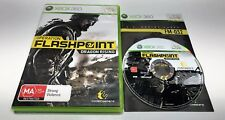 MICROSOFT XBOX 360 GAME | OPERATION FLASHPOINT - DRAGON RISING | PAL COMPLETE