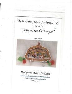 Blackberry Lane Designs LL - Gingerbread Camper Cross Stitch Pattern
