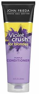 John Frieda VIOLET CRUSH For Blondes, Purple Conditioner Crushed Restores Moistu