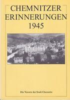 Chemnitzer Erinnerungen 1945 Teil III, Die Vororte der Stadt Chemnitz