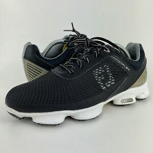 Footjoy FJ Hyperflex 2.0 FTF Black Soft Spike Golf Shoe 51046 Men's Size 9.5