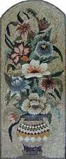 """40"""" Handmade Vertical Flower Vase Collection Home Wall Decor Marble Mosaic  Art"""