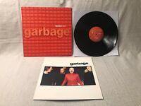 1998 Garbage 2.0 LP Vinyl Album Mushroom Records MUSH29LP EX/EX UK