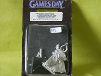 A1 WARHAMMER CHAOS ARMY - EXALTED HERO OF CHAOS GAMES DAY METAL MODEL IN BLISTER