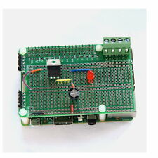 Breadboard Prototyp-Platine Raspberry Pi3, Pi2, PiB+ +Kontaktleiste+Distanbolzen