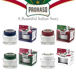 Proraso Preshave Cream 100ml/3.4Oz Sensitive Refresh Nourish Aloe
