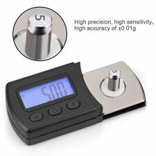 Digital Tonearm Phono Cartridge Turntable Stylus Force Scale Gauge 5g/0.01gMeter