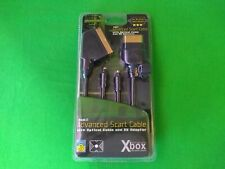 MICROSOFT XBOX ORIGINAL OFFICIAL ADVANCED SCART CABLE-(Gold Series)(Brand New)