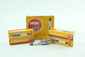 Set of 4 New NGK 2460 Spark Plugs - Nickel BKR5ES Fast Free Shipping