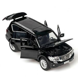 1:32 Nissan Patrol Y62 SUV Die-Cast Model Car Toy Collection Sound&Light Gift
