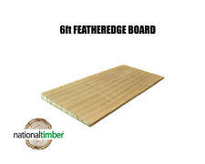 (Pack of 50) 6ft Featheredge Boards Untreated