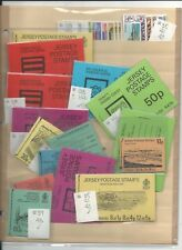 Channel Islands, Guernsey, Jersey, Isle Man, Large Lot of Booklets & Stamps