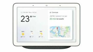 Google Home Hub - Charcoal Smart Home Nest Assistant Calendar Maps Screen New