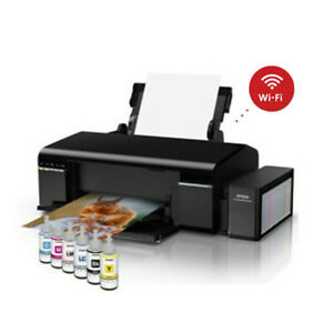 (EXPRESS)EPSON L805 6 Color Wireless Inkjet Photo Printer Ink Tank Wi-Fi Support