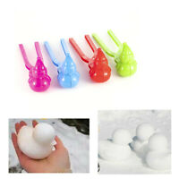 Funny Snowman Shape Snowball Maker Winter Snow Scoop Clip Sand Clay Mold Toy Hot
