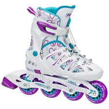 Roller Derby Girl's Stinger 5.2 Adjustable Inline Skate - Size S