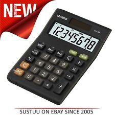 Casio MS8B Large 8 Digit Multi Function Tax VAT Desk Calculator Dual Solar Power