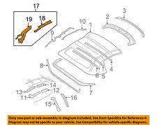 Chevrolet GM OEM 98-04 Corvette Convertible Top-Rail Assembly Left 88953887