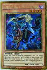 YuGiOh Tristan, Knight of the Underworld PGL2-EN009 Gold Secret Rare 1st Ed.