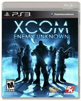 PLAYSTATION 3 PS3 GAME XCOM ENEMY UNKNOWN BRAND NEW & FACTORY SEALED