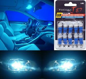 LED 5050 Light Icy Blue 8000K 194 Ten Bulb License Plate Tag Replace Lamp SMD