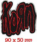 KORN Music Metal Rock Black Death Heavy Patch Sew Iron On Embroidered