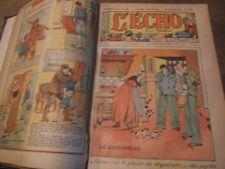 Ancien hebdomadaire L'ÉCHO DU NOEL année complète 1935  51 N° de n 1270 à n°1232