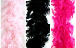 """New Chandelle feather Boas pretend play princess tea diva party girl 2 yards 72"""""""