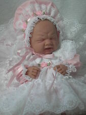Pink & Ruffled Lace for 14-16 Inch Reborn Berenguer