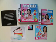 NINTENDO DS PAL GAME ACTIVE HEALTH WITH CAROL VODERMAN  PLAYED AND TESTED