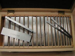 Precision Parallel Set - 20pair set - Length: 100mm