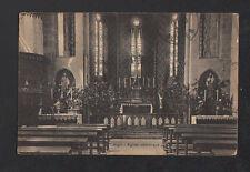 AIGLE (SUISSE) Intérieur de l'EGLISE en 1929