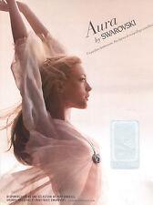 PUBLICITE  2012  SWAROVSKI     le parfum AURA