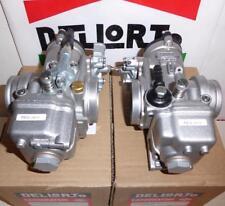 Dellorto PHM 40mm PAIR carburetors rubber mount Ducati, Guzzi LeMans  #4841/4842
