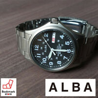 New ALBA Watch Field gear APBT207 & Box Water Resist / 100% Authentic!! JAPAN