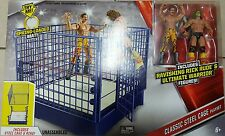 WWE Mattel Classic blue steel cage hall of fame rick rude ultimate warrior new