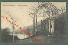 Lombardia. SONDRIO dintorni. L'Adda al Castelletto. Cartolina d'epoca viaggiata.