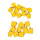 20pcs Upgrade Amass XT30U Connector 2MM gold-plated Plug for Low RC Lipo Battery