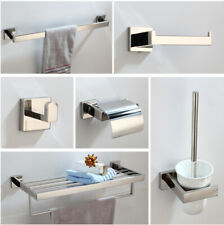 Bathroom Towel/Toilet Brush Holder/Paper Holder Wall Mount Accessories Chorme