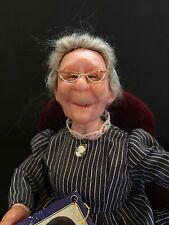 "RETIRED Richard Simmons ""Nana"" doll With Glasses, Chair, Photo Album, & COA"