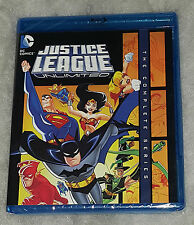 Justice League Unlimited COMPLET : Saison 1 & 2 - Blu-Ray Coffret NEUF scellé