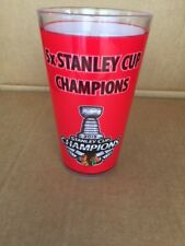 Chicago Blackhawks Stanley Cup Champion Pint Glass 2013  Five time 2  lot
