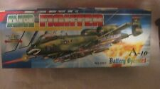 A-10 Air Fighter Army Air Force Aircraft Toy Model With Lights Sound & More md82