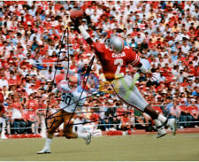 Cris Carter Ohio State Signed One Handed Catch 8 x 10 Photo reprint