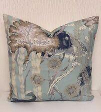 "Cowtan And Tout Maralago Designer Cushion Cover 17"" x 17""  100% Linen"