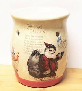 Yankee Candle CHRISTMAS PAST Tarts WAX MELT WARMER uses Tea Light Candles