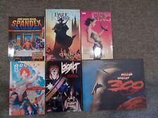 Marvel / Vertigo / Dark Horse Graphic Novel Lot And Our Gods Wear Spandex Book