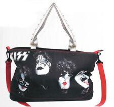 KISS Faces Zipper Tote Bag