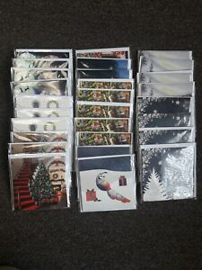 Lot of 28 3D Pop-Up Cards ~ 9 Winter & Christmas Designs ~ Up with Paper ~ NEW